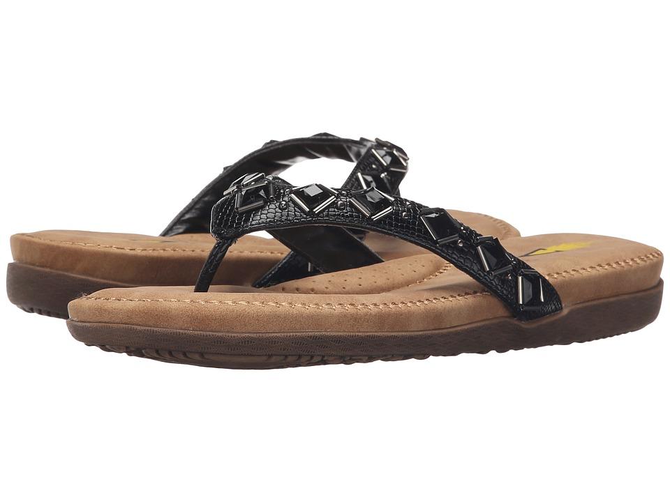 VOLATILE Morocco Black Womens Sandals