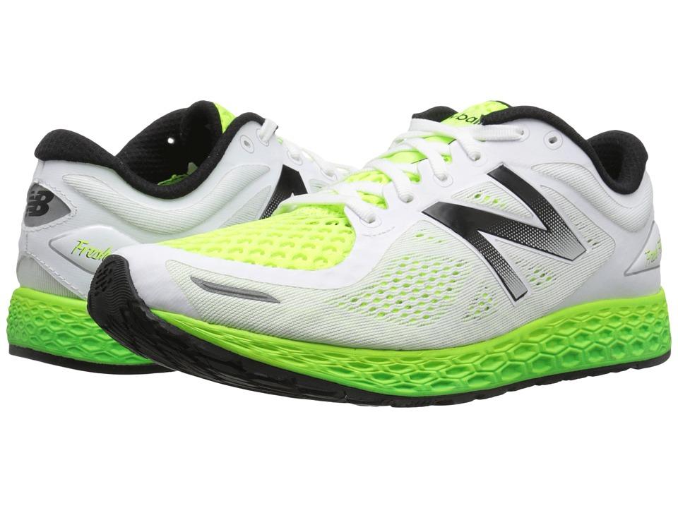 New Balance Fresh Foam Zante V2 White/Toxic Mens Running Shoes