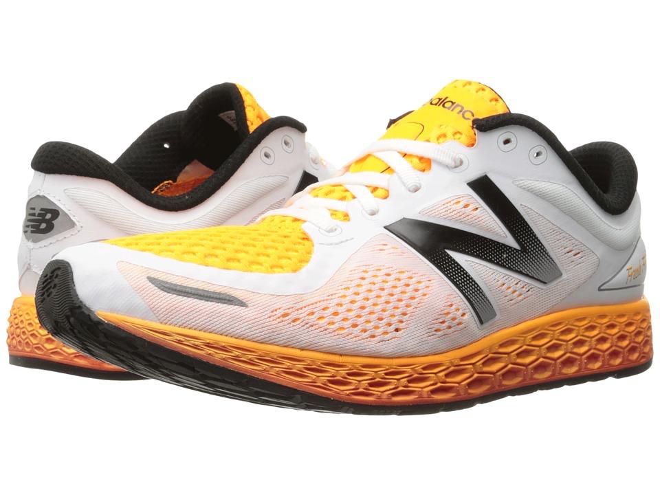 New Balance Fresh Foam Zante V2 White/Impulse Mens Running Shoes