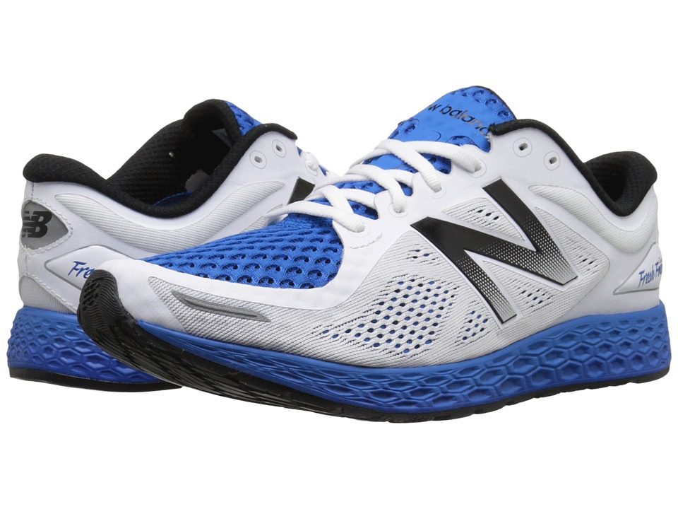 New Balance Fresh Foam Zante V2 White/Pacific Mens Running Shoes