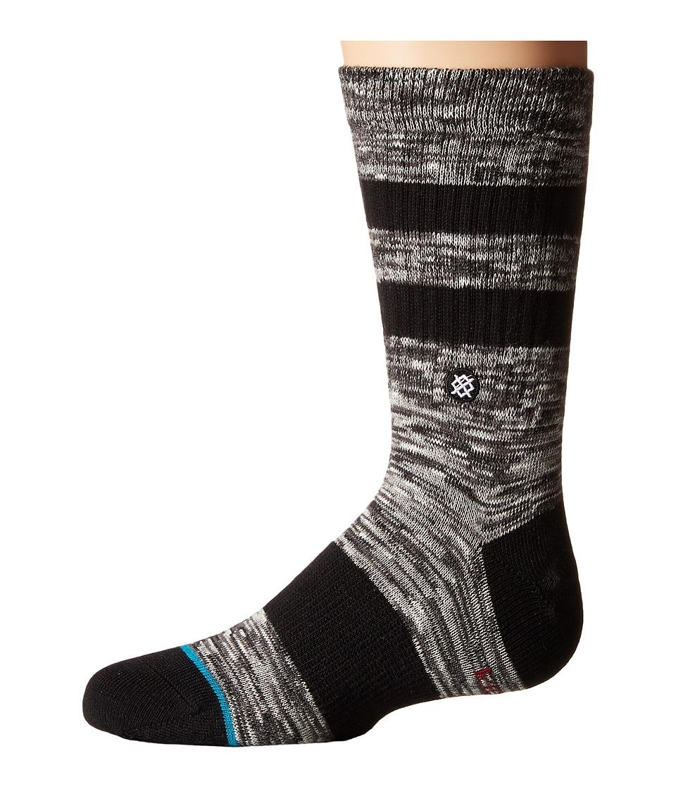 Stance Mission (Toddler/Little Kid/Big Kid) (Charcoal) Men's Crew Cut Socks Shoes