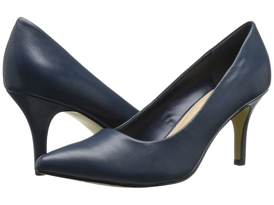 Bella Vita Define Navy Leather High Heels