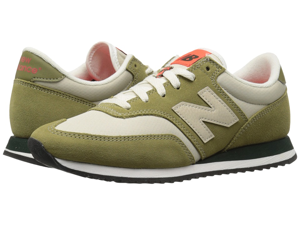 New Balance Classics CW620v1 Green Olive/Beach Sand Womens Running Shoes
