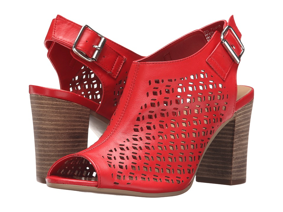Bella Vita Trento Red Womens 1 2 inch heel Shoes