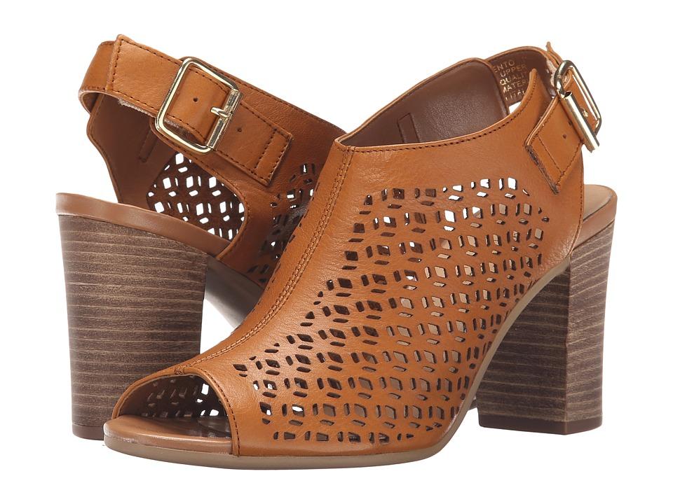 Bella Vita Trento Tan Womens 1 2 inch heel Shoes