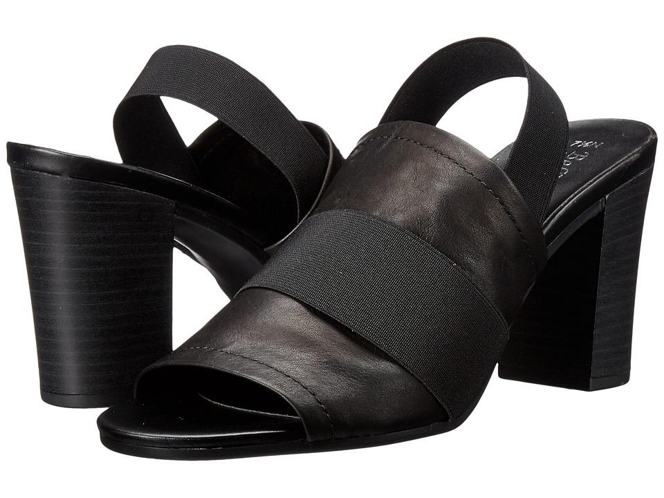 Bella Vita Sassari Black/Black Gore Womens 1 2 inch heel Shoes