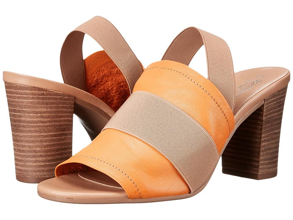Bella Vita Sassari Tangerine/Tan Gore Womens 1 2 inch heel Shoes