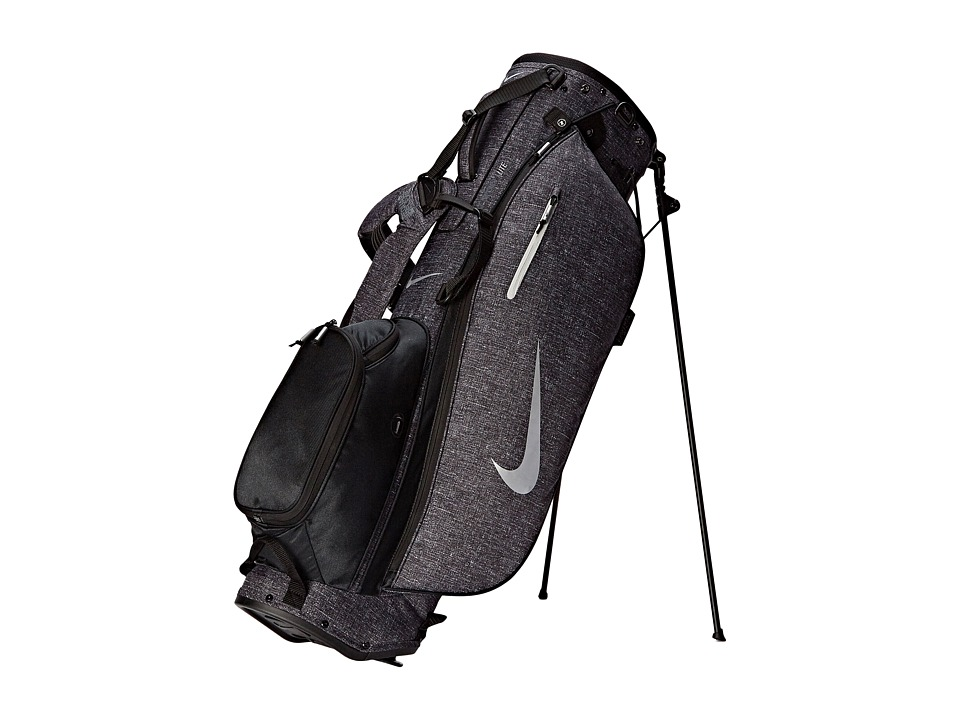 Nike Golf - Sport Lite Carry II (Black/Silver/Black) Athletic Sports Equipment