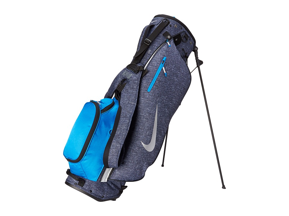 Nike Golf - Sport Lite Carry II (Dark Obsidian/Silver/Photo Blue) Athletic Sports Equipment