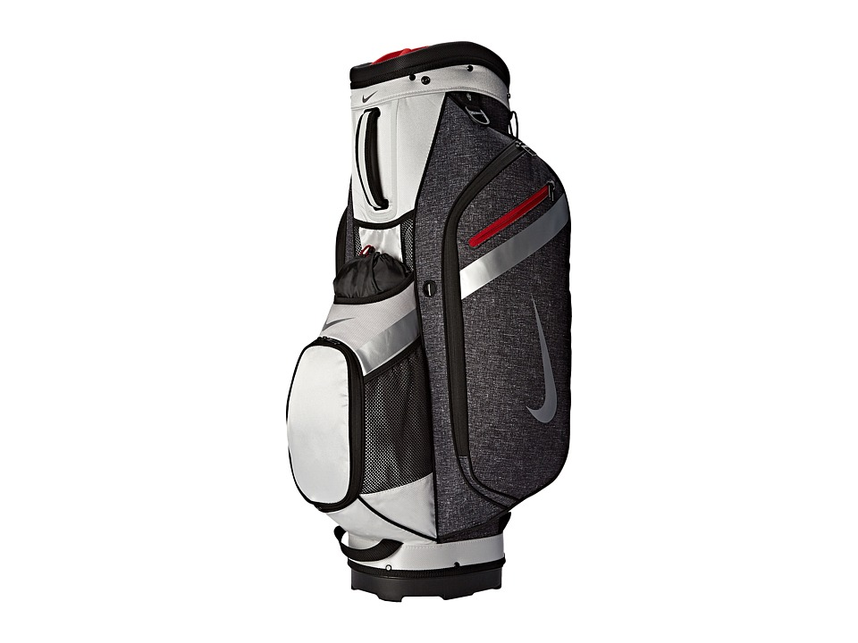 Nike Golf - Sport Cart IV (Black/Silver/Gym Red) Athletic Sports Equipment