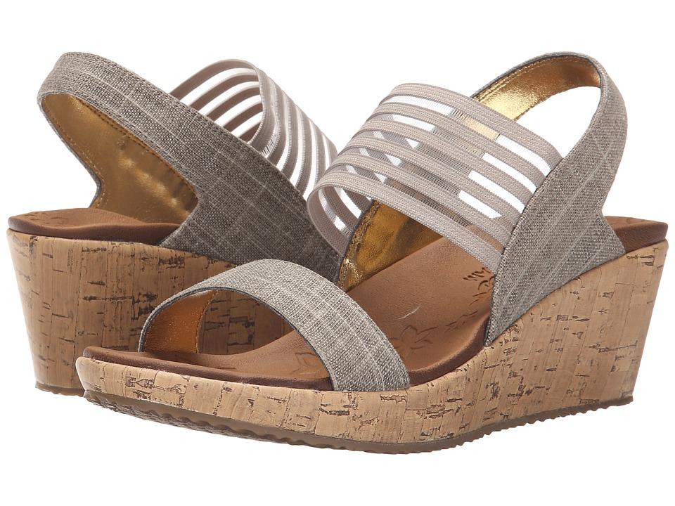 SKECHERS Cali - Beverlee - Sitten Kitten (Taupe) Sandals
