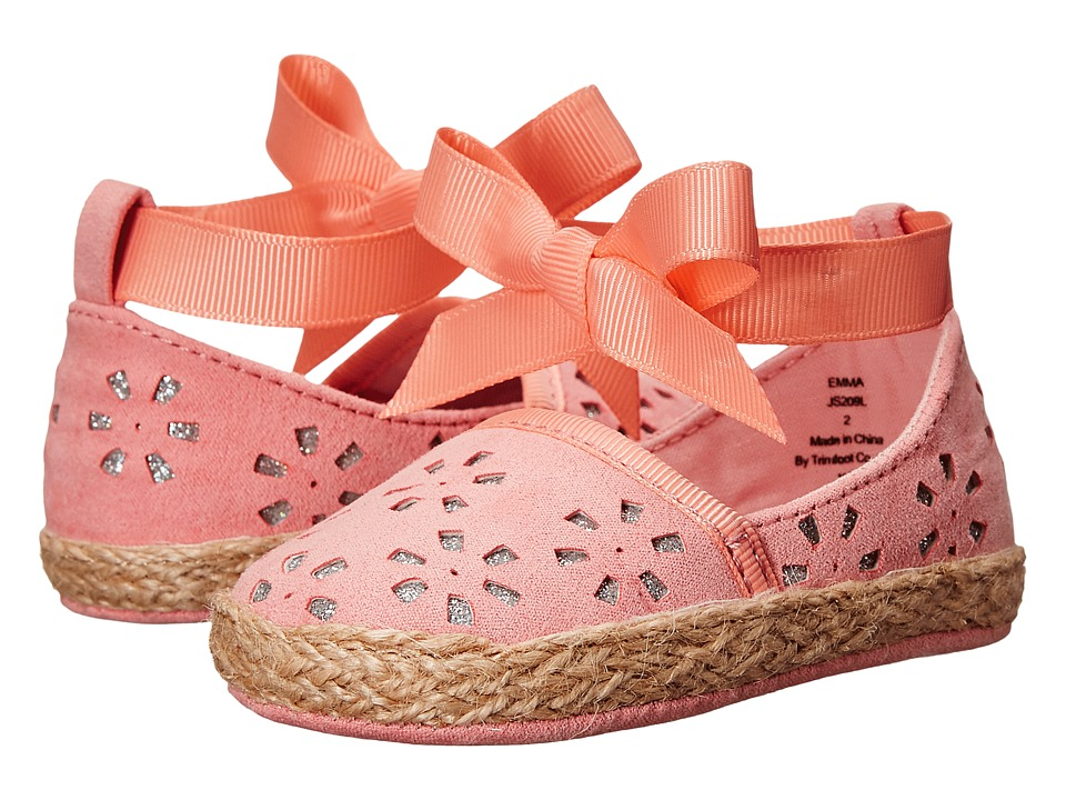 Jessica Simpson Kids Emma Infant/Toddler Coral Girls Shoes