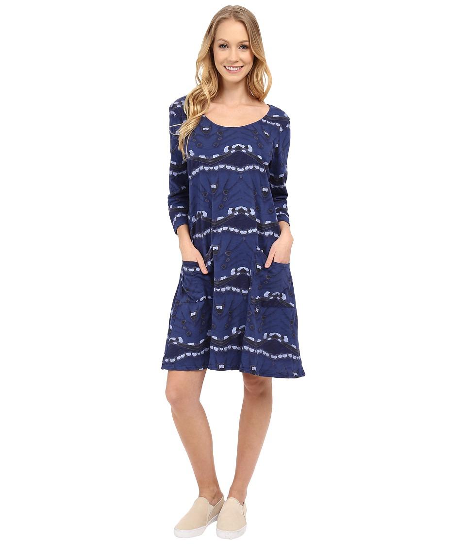 Fresh Produce Flutter Dalia Dress Moonlight Blue Womens Dress