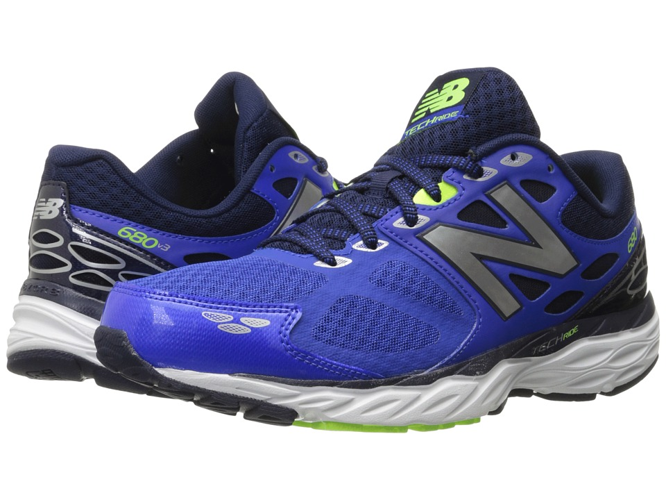 New Balance - M680v3 (Pacific/Toxic) Mens Running Shoes