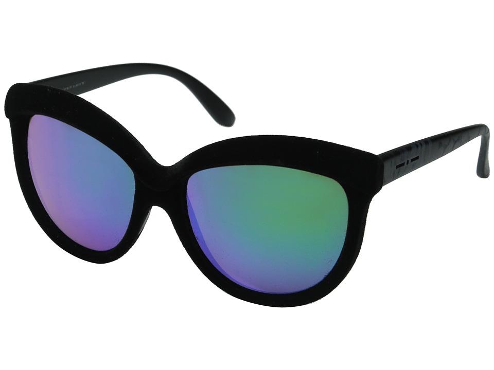 Italia Independent 0092V Black Zebraffa Fashion Sunglasses