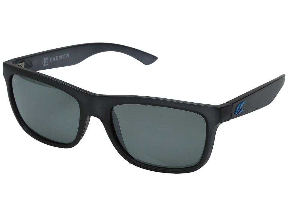 Kaenon Clarke Graphite/Bright Blue G12M Sport Sunglasses