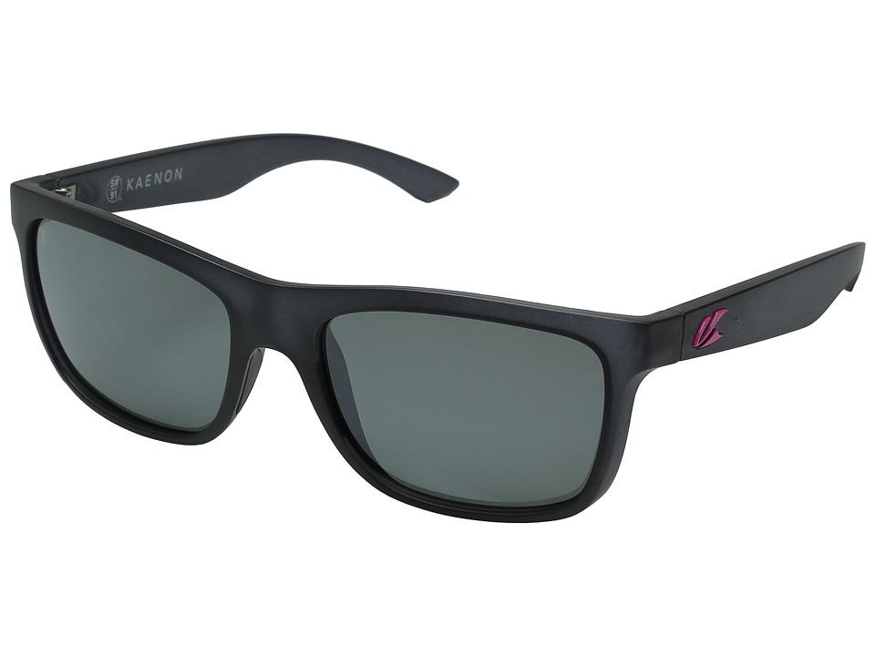 Kaenon Clarke Graphite/Hot Pink G12M Sport Sunglasses