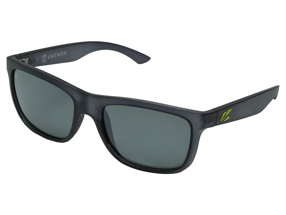 Kaenon Clarke Graphite/Yellow Lime G12M Sport Sunglasses