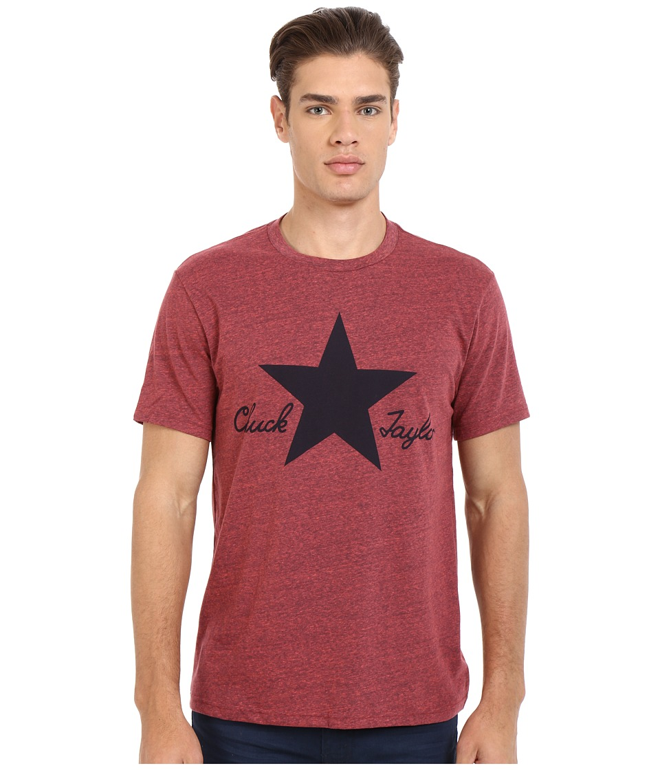 Converse - CTASII Heathered Tee (Resin Red) Men