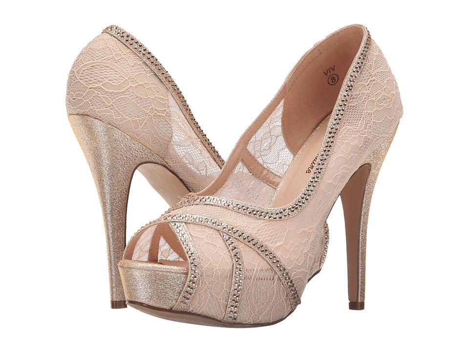 Lauren Lorraine Viv Nude Womens Shoes