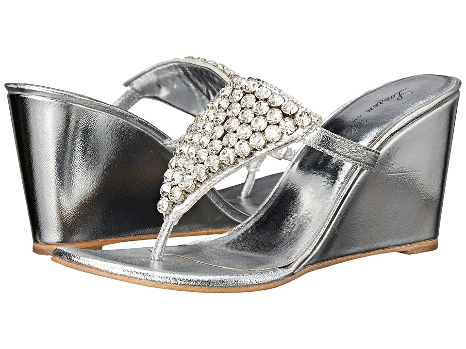 Lauren Lorraine Anguilla Silver Womens Shoes