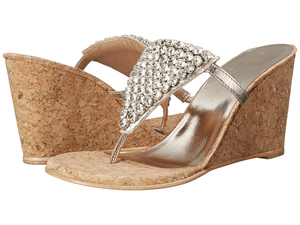Lauren Lorraine Anguilla Cork Platino Womens Shoes