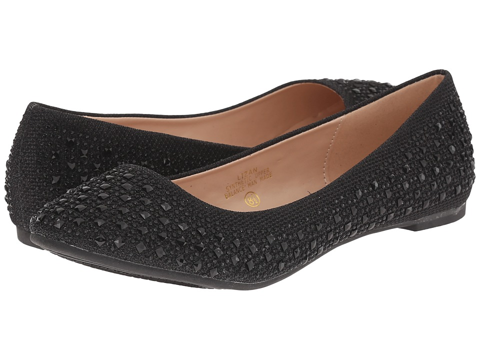 Lauren Lorraine Lizan Black Womens Shoes
