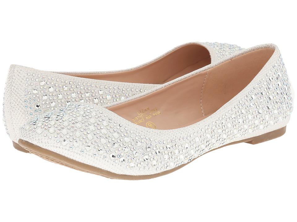 Lauren Lorraine Lizan White Womens Shoes