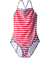 Oscar de la Renta Childrenswear - Striped Classic Swimsuit (Toddler/Little Kids/Big Kids)