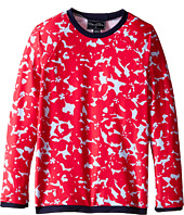 Oscar de la Renta Childrenswear - Abstract Floral Rashguard (Toddler/Little Kids/Big Kids)