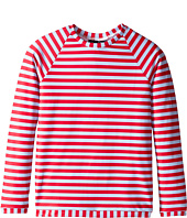 Oscar de la Renta Childrenswear - Stripe Lycra Rashguard (Toddler/Little Kids/Big Kids)