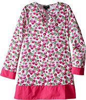 Oscar de la Renta Childrenswear - Spring Pansies Cotton Caftan (Toddler/Little Kids/Big Kids)