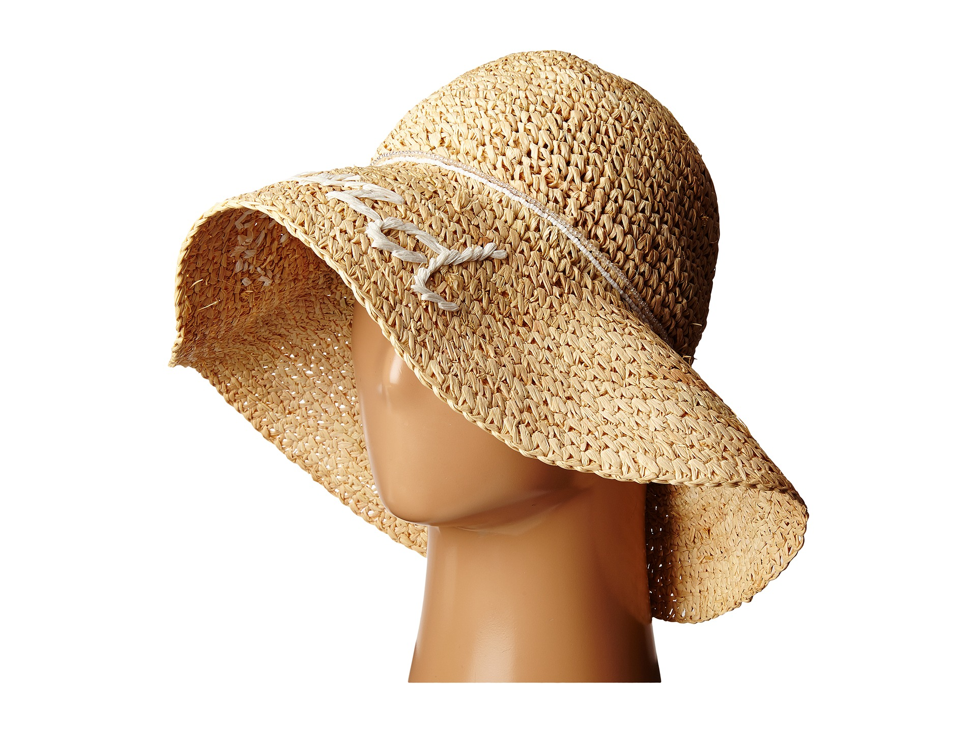 how to fix a ripped straw hat