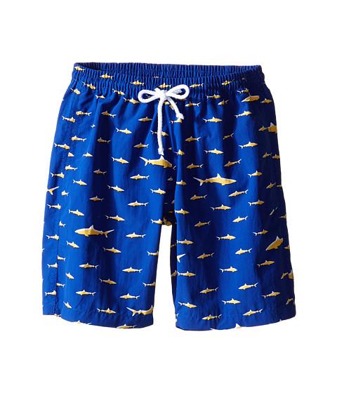 Oscar de la Renta Childrenswear Shark Classic Swim Shorts (Toddler/Little Kids/Big Kids)