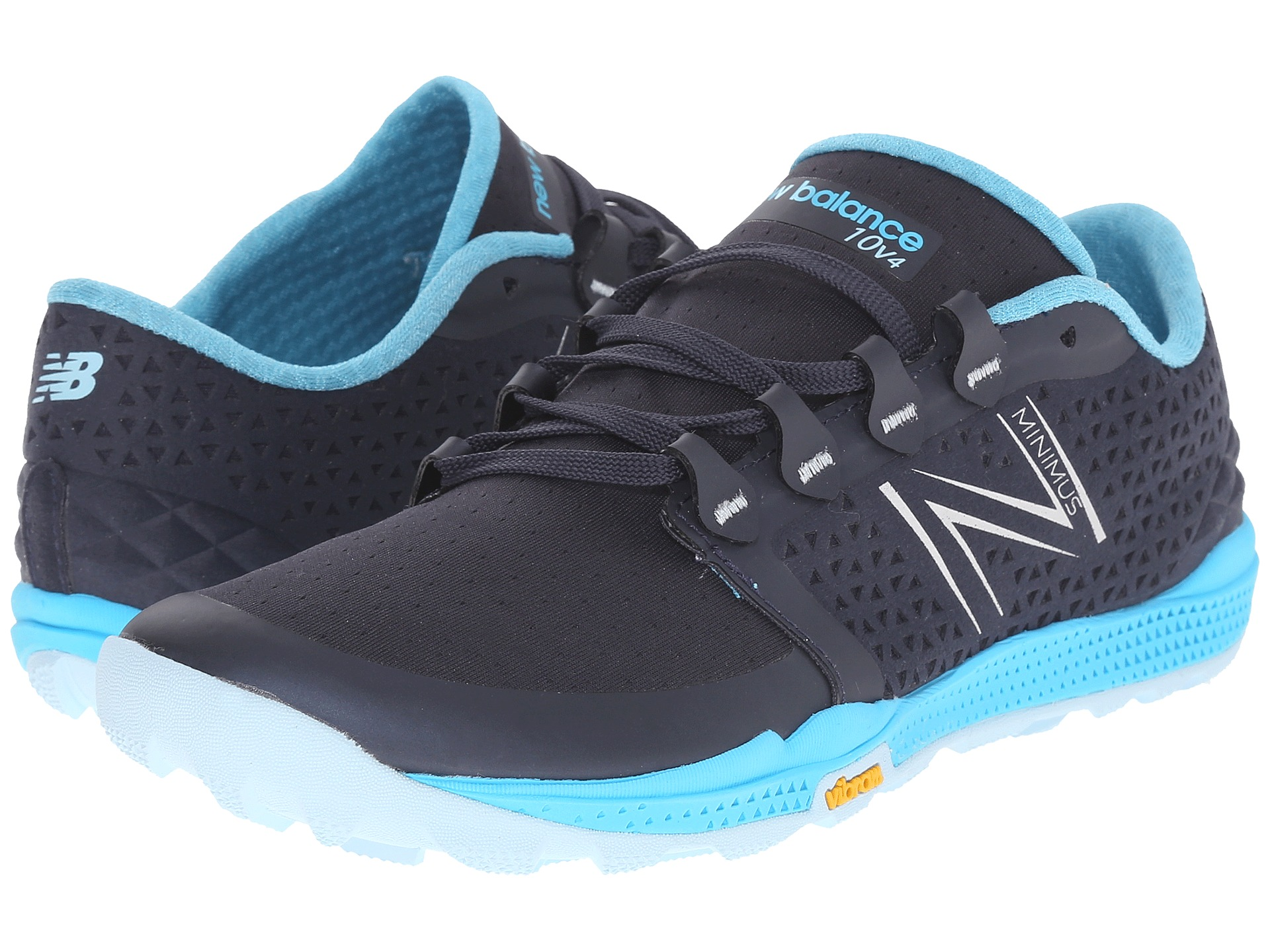 womens new balance minimus trail twt10bl black running athletic shoes
