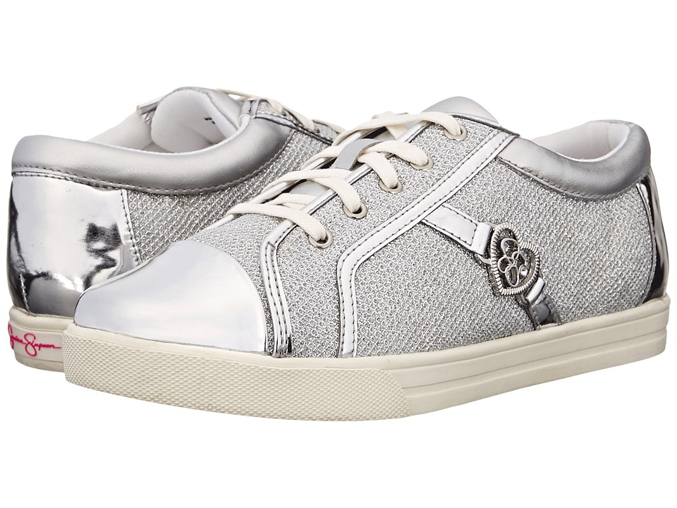 Jessica Simpson Kids Aurora Toddler Silver Lurex Girls Shoes