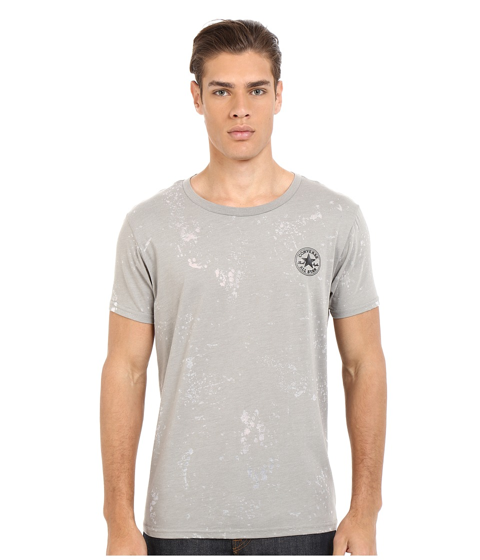 Converse AMT Burnout Tee Vintage Grey Heather Mens T Shirt