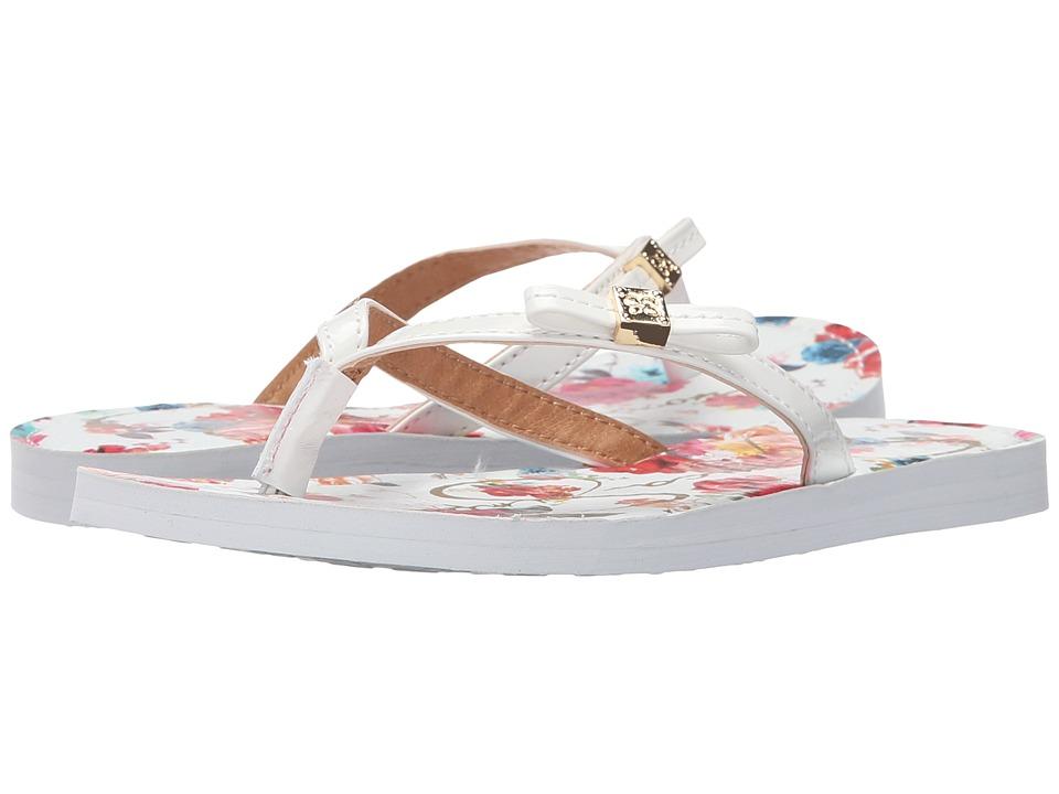 Jessica Simpson Kids Duchess Little Kid/Big Kid White/Floral Girls Shoes