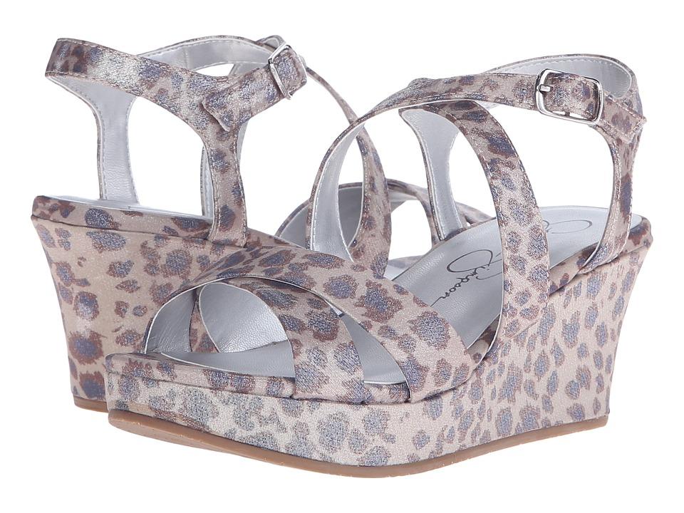 Jessica Simpson Kids Delphi Little Kid/Big Kid Gold Leopard Girls Shoes