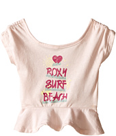 Roxy Kids - Surf Beach Ruffled Tee (Infant)