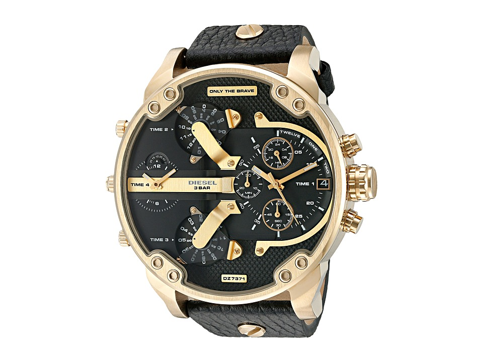 Diesel - Mr. Daddy 2.0 - DZ7371 (Black) Watches