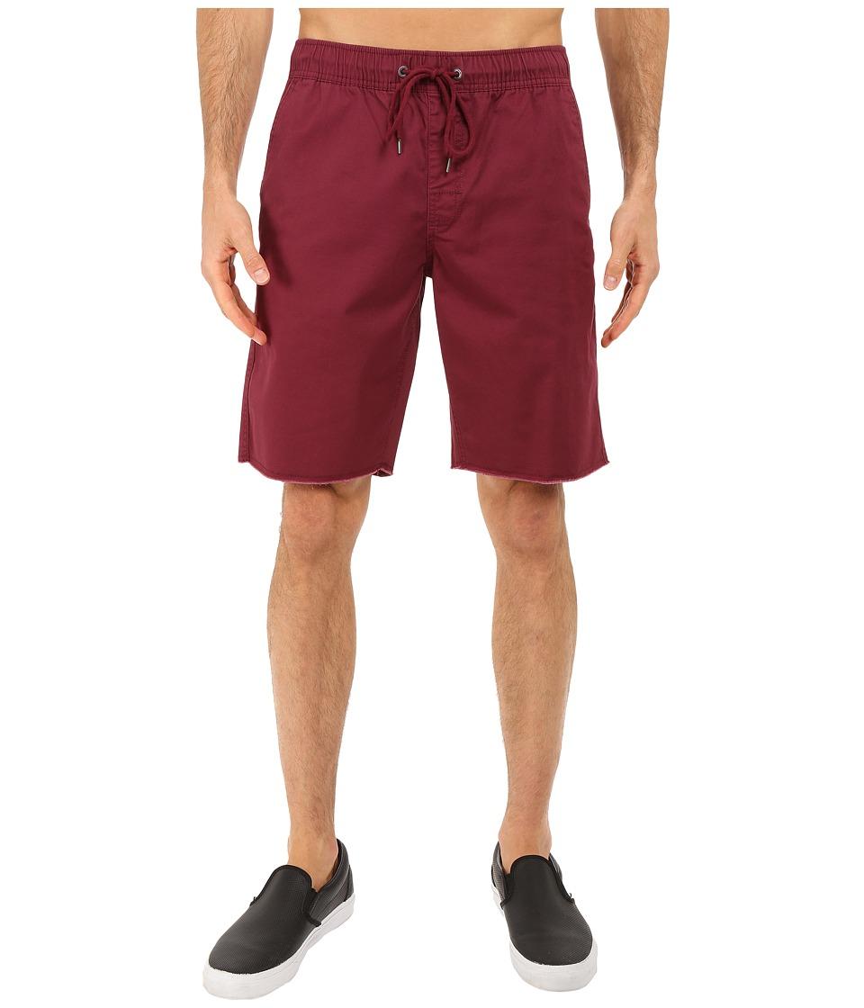 Body Glove Dazed Walkshorts Burgundy Mens Shorts