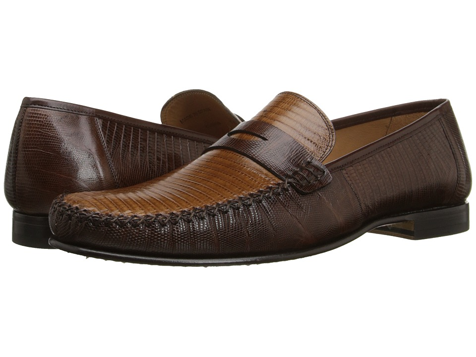 Mezlan Cubas Brown/Camel Mens Slip on Shoes