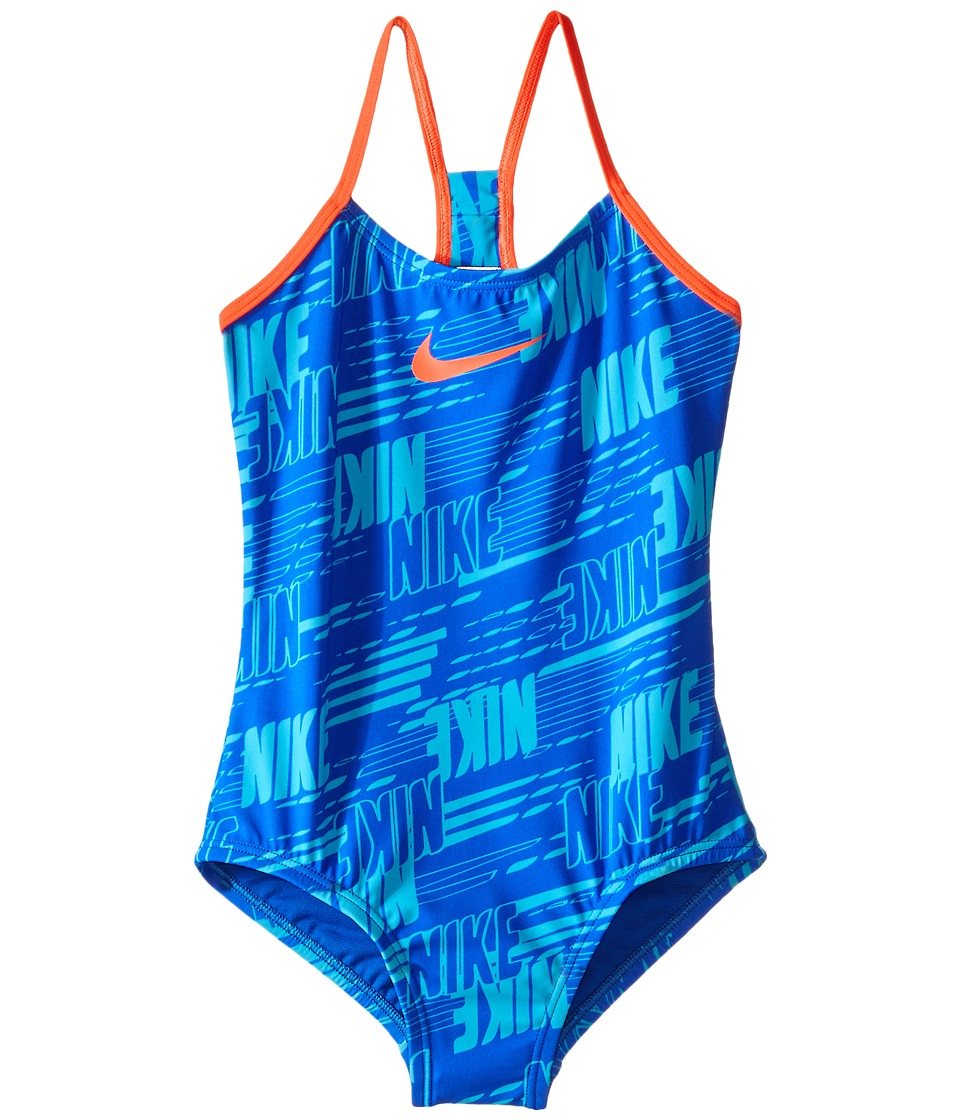 Nike Kids Racerback Tank Top (Big Kids) (Hyper Cobalt) Girl