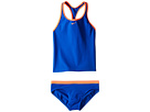 Nike Kids Solid Racerback Tankini (Big Kids)