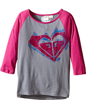 Roxy Kids - Vintage Hearts Long Sleeve Tee (Big Kids)