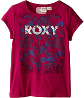 Roxy Kids - Dark Floral Short Sleeve Tee (Big Kids)