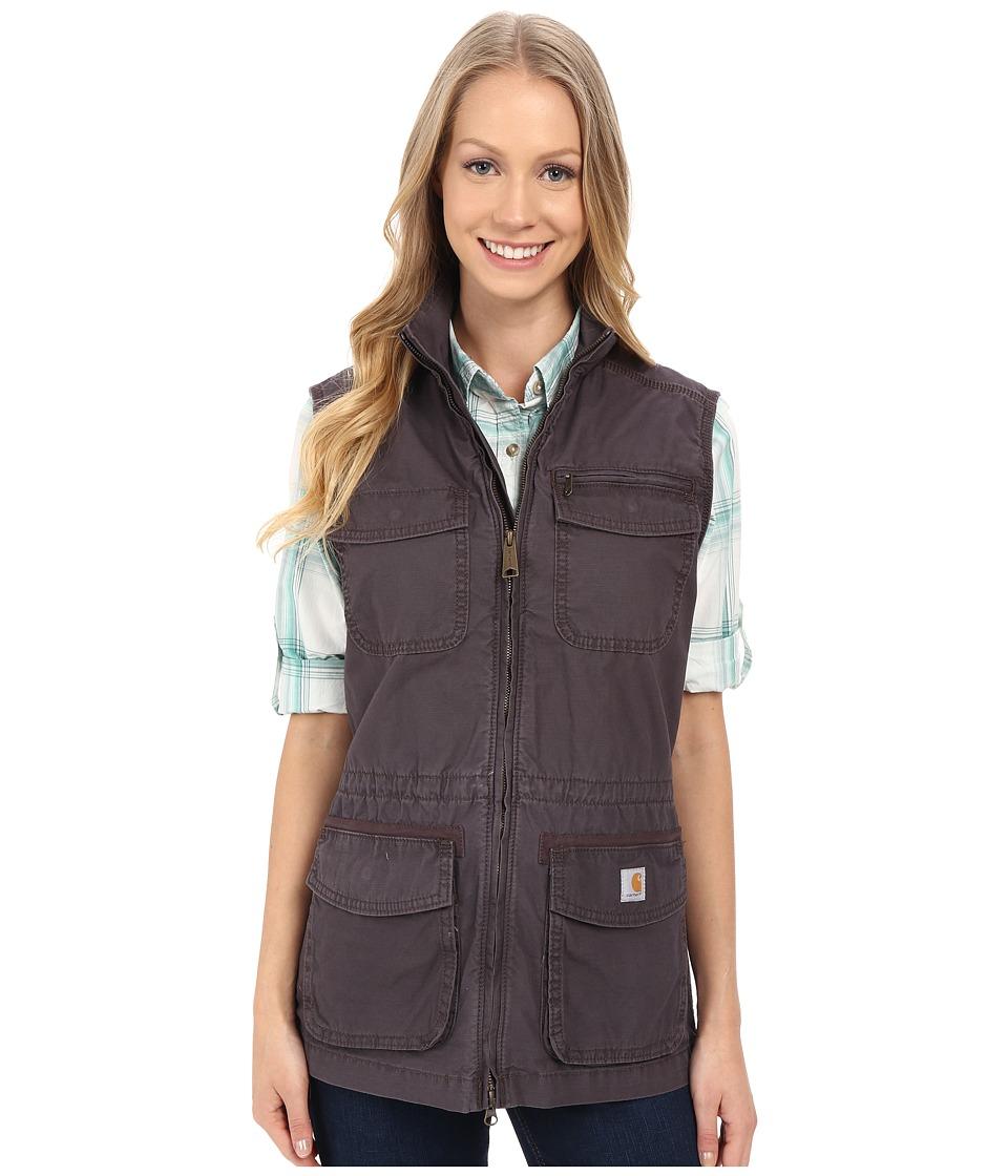 Carhartt El Paso Utility Vest Dark Shale Womens Vest
