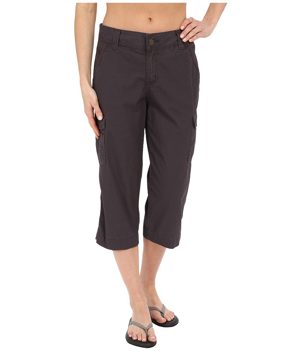 Carhartt Relaxed Fit El Paso Cropped Pants Dark Shale Womens Casual Pants
