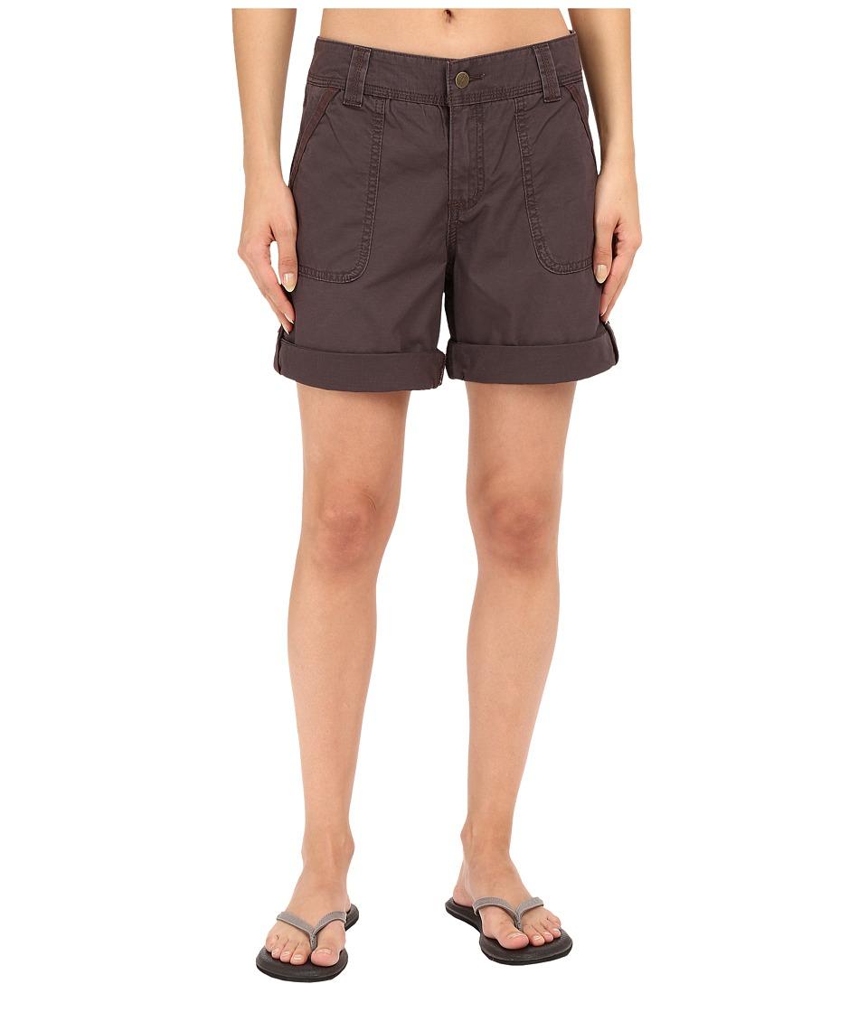 Carhartt Relaxed Fit El Paso Shorts Dark Shale Womens Shorts
